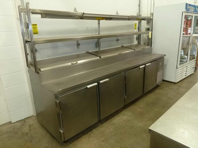 Beverage-Air DP119 - Prep w/ Dbl. Shelf